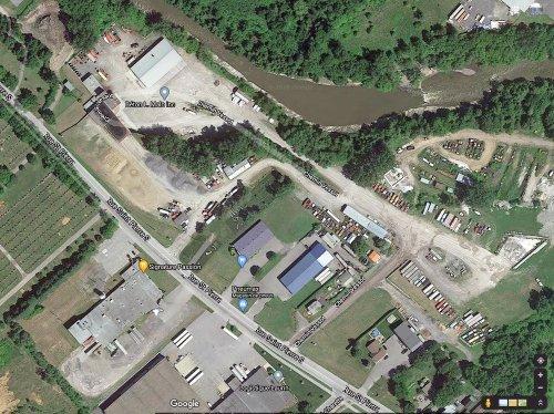 Cimetière de Joliette vue satellite