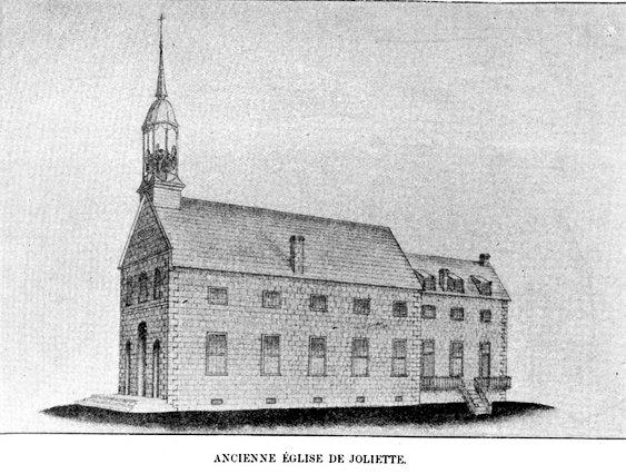 L'ancienne église de Joliette