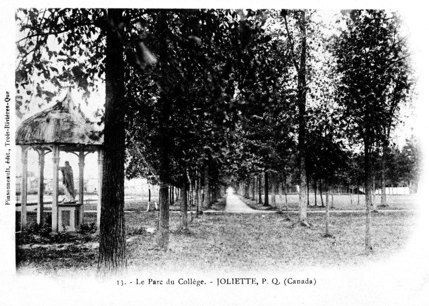 Le parc du collège