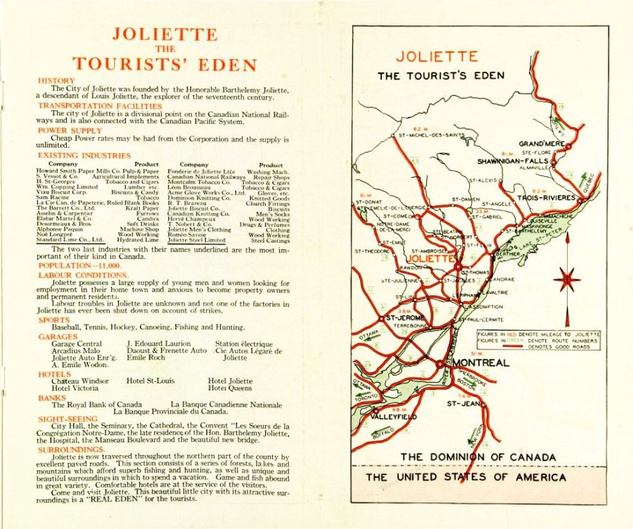 Joliette the tourists' Eden