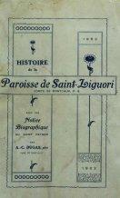 Histoire de St-Liguori - A. C. Dugas