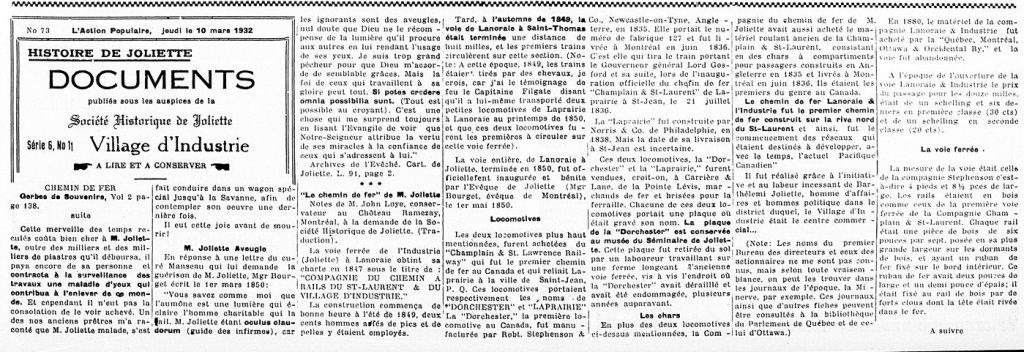 L'Action Populaire 10 mars 1932