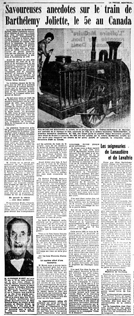 La Presse 6 juillet 1957