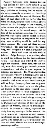 Montreal witness 30 octobre 1867