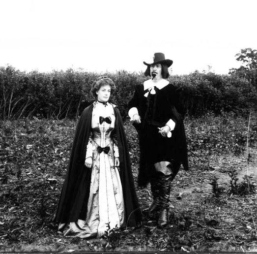 Samuel de Champlain et Hélène Boulé