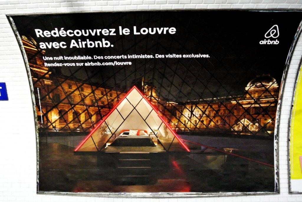 Le Louvre sur AirBnB