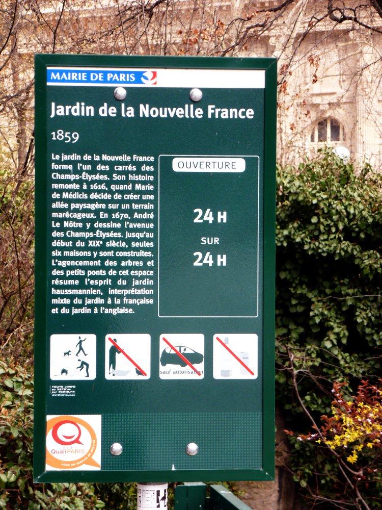 Jardin de la Nouvelle-France