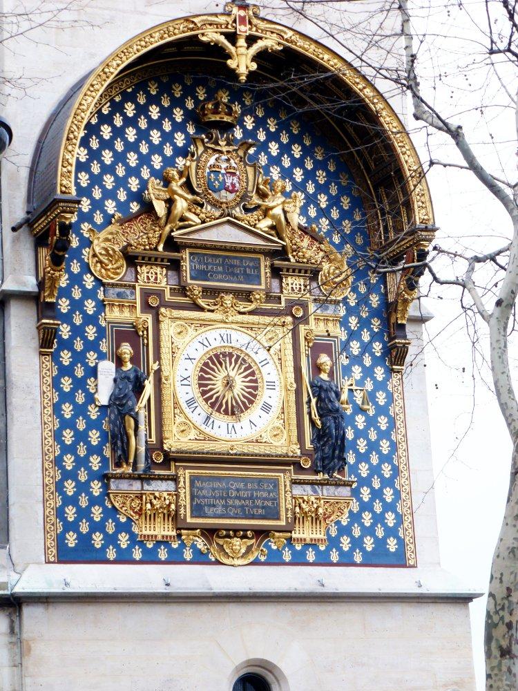 L'horloge du Palais