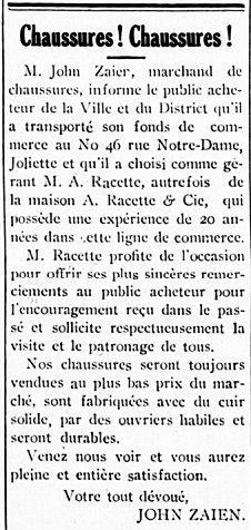 Étoile du Nord 7 mai 1914