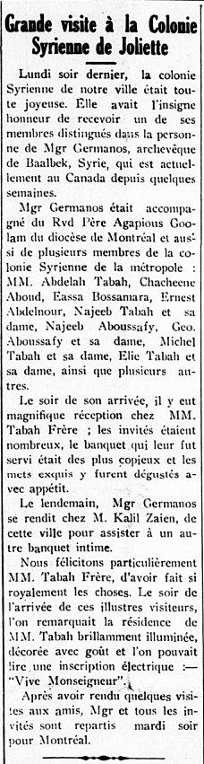 Étoile du Nord 4 février 1915