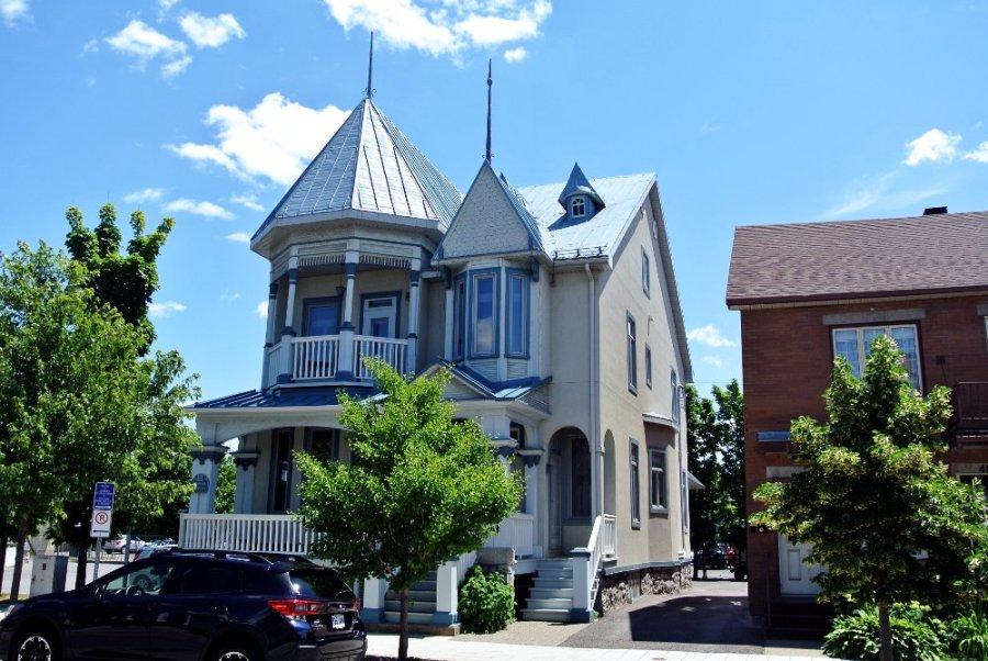 Maison construite par Alphonse Durand, rue Manseau Joliette