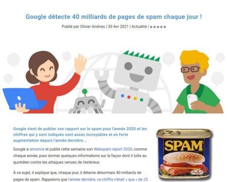 Le spam