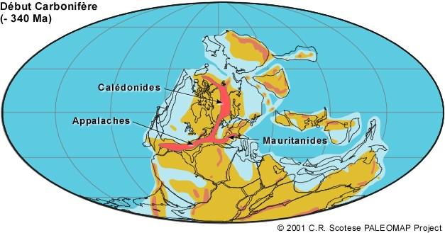 -340 millions d'années