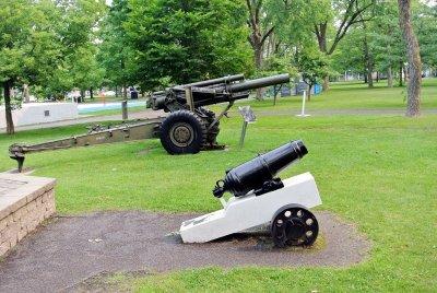 Les canons de l'arsenal