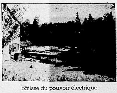 Bâtisse du pouvoir électrique