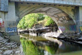 Pont des Dalles, Joliette