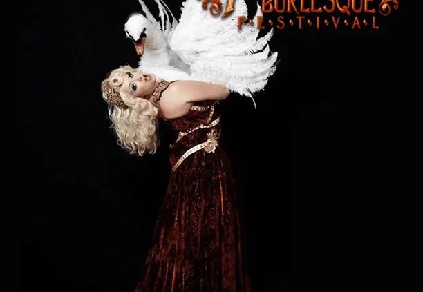 Burlesque montreal festival dancer swan