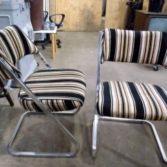Retro Chrome Chairs Kid Table And Chair Set Montreal Digs Pair