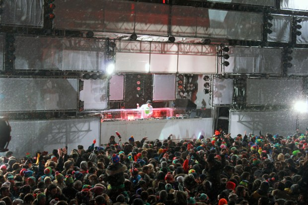 RL Grime. Feb 6 2014. Igloofest. Photo Liliane Hudecova.