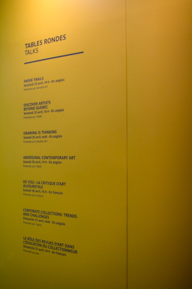 Papier14 Art Fair Talks Schedule