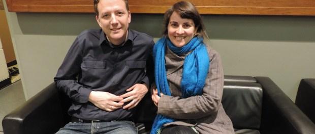 Ezra Winton and Inês Lopes. Photo Mylène Chevreul.