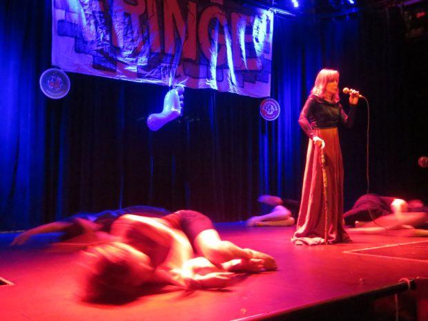 Montreal Fringe Festival Launch. La Troyenne. Photo Rachel Levine