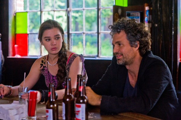 BEGIN AGAIN. Hailee Steinfeld and Mark Rufffalo.