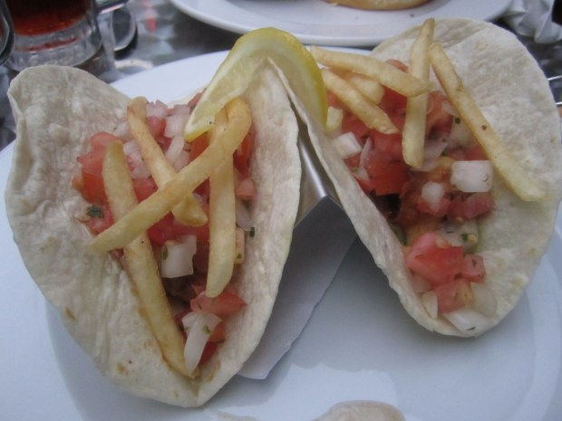 Breaded Fish Tacos. Photo Esther Szeben