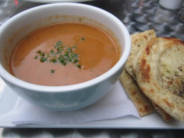 Gaspacho Soup. Photo Esther Szeben.