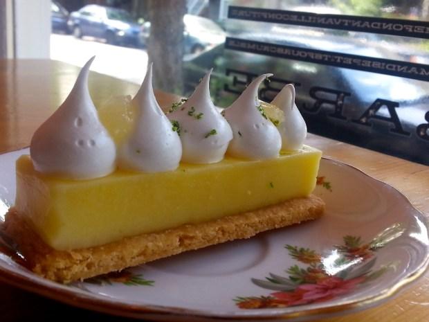 Tarte Citron. Photo by Annie Shreeve