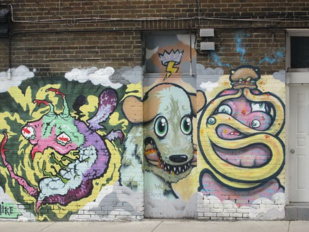 Graffiti Montreal. Photo Rachel Levine