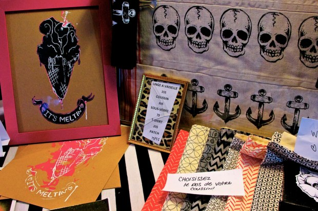 Mascara & Popcorn Festival. Etsy Montreal Vendors. Photo Michael Bakouch.