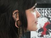 Kate from New Moon Tattoo. Art Tattoo Montreal. Photo Lyla McQueen Shah.