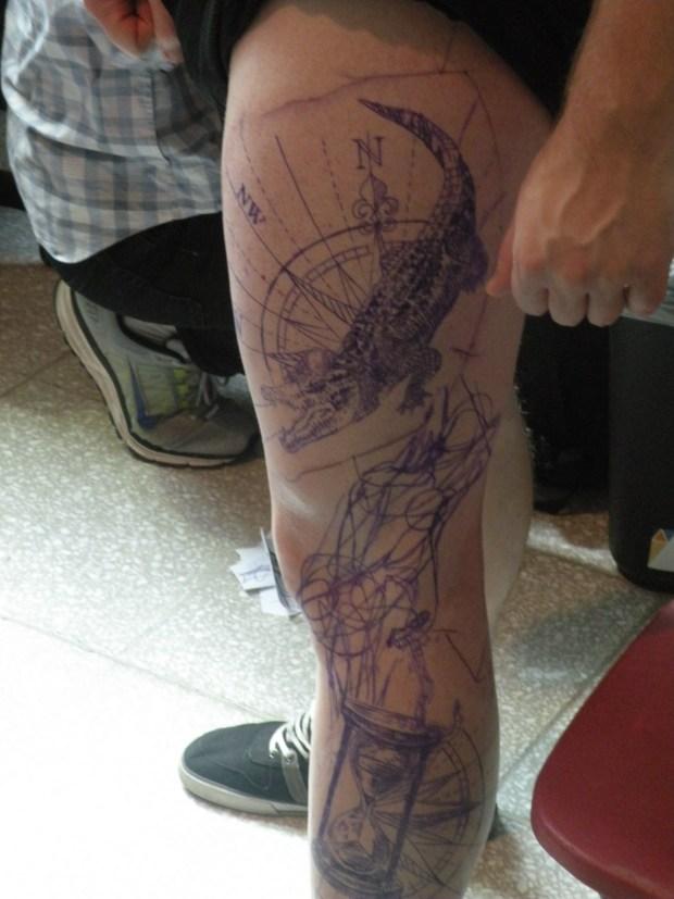 Pat. Art Tattoo Montreal Photo Lyla McQueen Shah.
