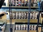 The bookshelves. Photo by Annie Shreeve