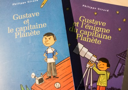 """Gustave"" books by Philipep Girard. Photo by Jean-Frederic Vachon"