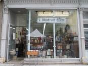 T Westoctt Books. Photo Rachel Levine