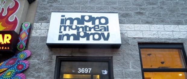 Improv Montreal. Photo Rachel Levine