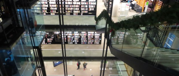 BANQ. Books. Photo Rachel Levine