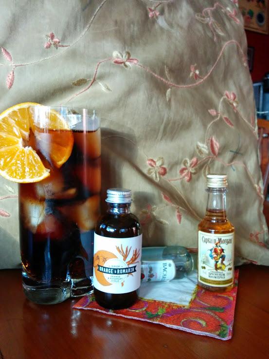 Orange Rum & Rosemary. Les Charlatans. Photo Esther Szeben.