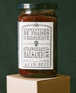 Strawberry Balsamic Jam. Bals Provisions