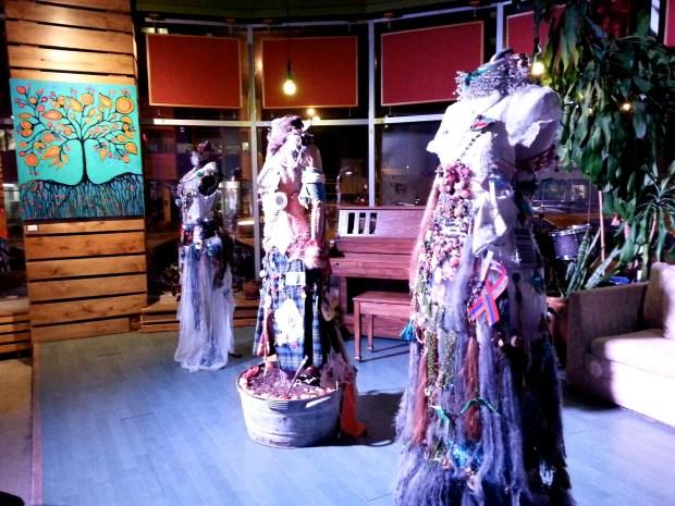 Other dresses by Carolina Echeverria. Photo by Annie Shreeve