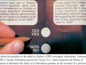 Quebec REferendum