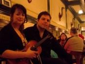 Giancarlo Scalia and Andreanne Beaudoin. Photo Derrick Soares.