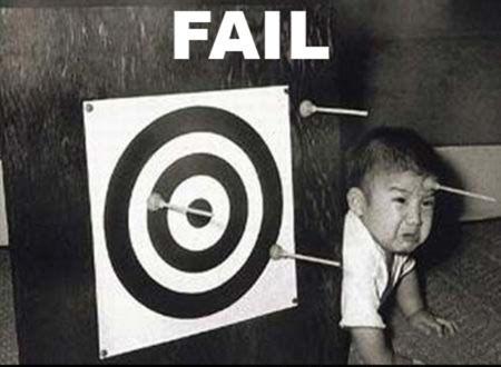 archery fail