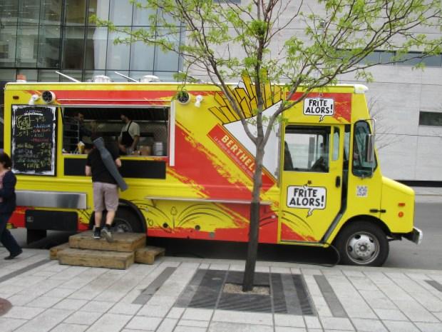 Frite Alors food truck. Montreal. Photo Rachel Levine