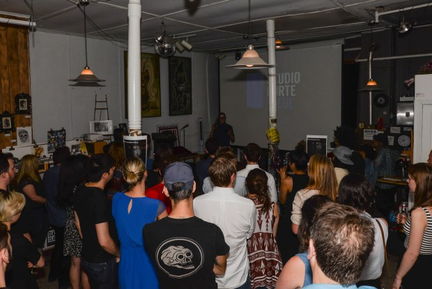 #thanksbetoray launch party at BBAM! gallery. Photo Matt Garries