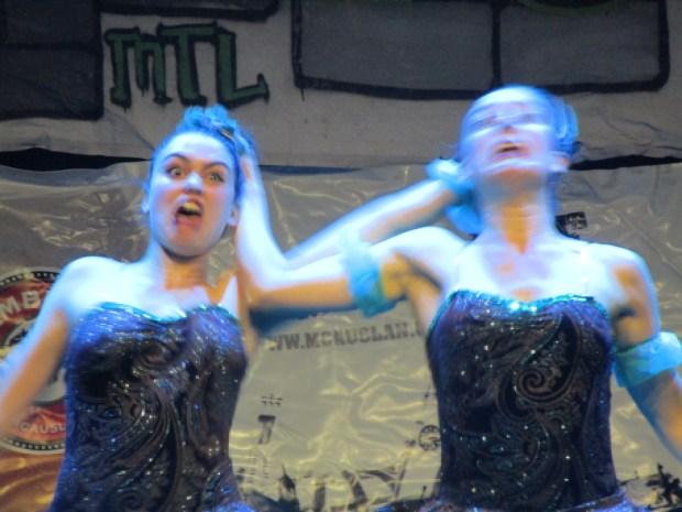 Les Bunheads. Fringe For All. Photo Rachel Levine