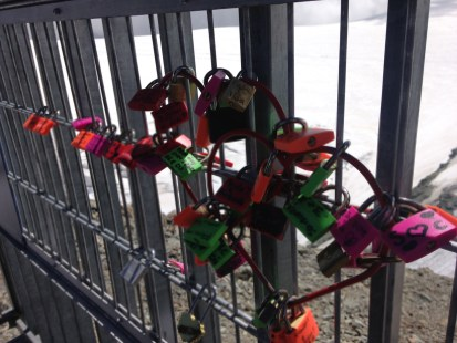 The Balcony's Love Locks