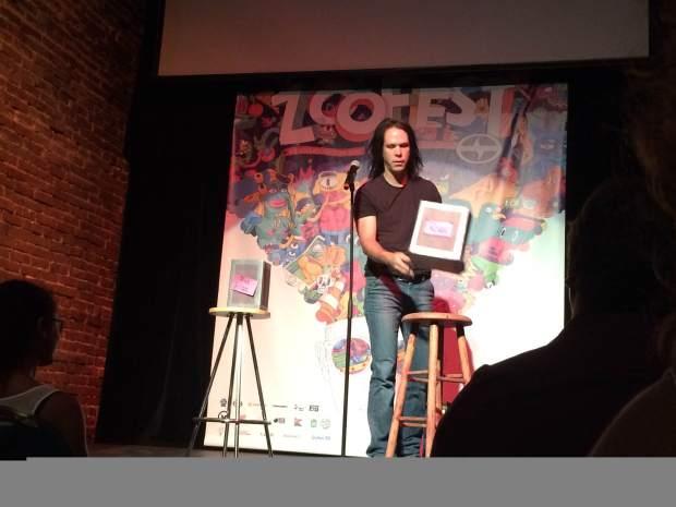 Franglos Comedy Show. Photo Julie Santini.
